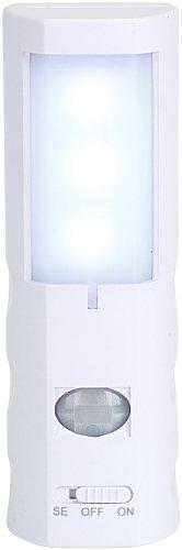 Lunartec - LED-Nachtlicht mit Bewegungsmelder, batteriebetrieben