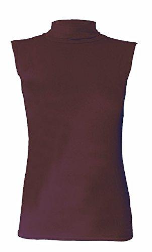 Sugerdiva Damen Schlauch Kleid schwarz schwarz Braun