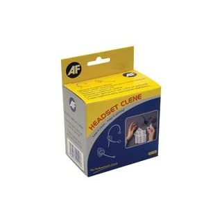 CLEANING, WIPES, HEADSET, 50 SACHETS AHSC050 By AF INTERNATIONAL