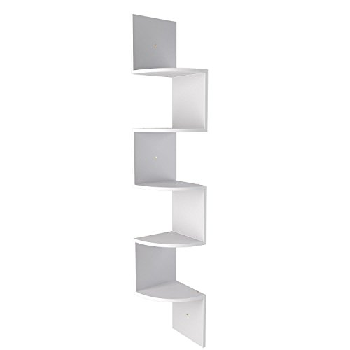 Cooshional libreria moderna scaffale ufficio in legno mdf salvaspazio contemporaneo 19,5 x 19,5 x 123,25 cm libreria parete