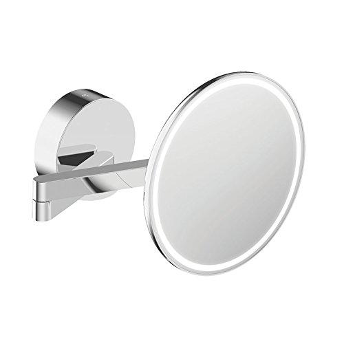sam Kosmetikspiegel, Metall, Chrom, 20.7 x 39.4 x 20.7 cm