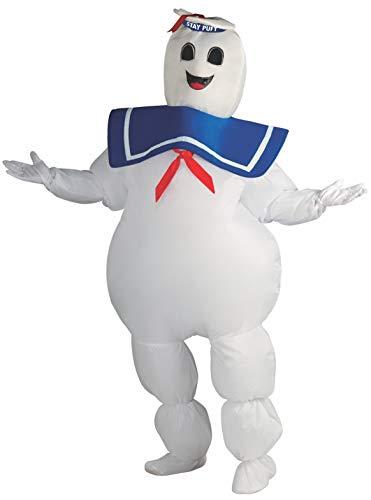 Rubie´s Offizielles Ghostbusters aufblasbar Kostüm Stay Ghostbusters (Plus - Kinder Ghost Buster Kostüm
