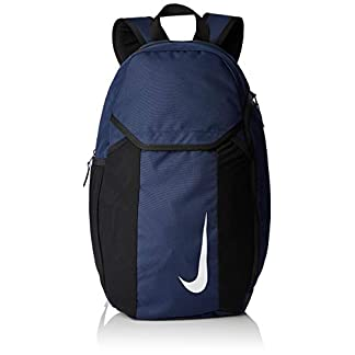 31Q5SkIjXVL. SS324  - Nike Nk Acdmy Team Bkpk Sports Backpack, Unisex Adulto, Midnight Navy/Black/(White), MISC
