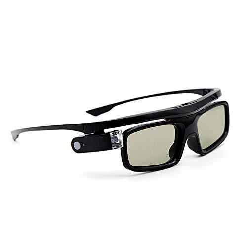 Docooler GL1800 Projektor 3D-Brille Active Shutter Wiederaufladbare DLP-Link für alle 3D-DLP-Projektoren Optama Acer BenQ ViewSonic Sharp Dell …