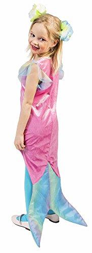 Das Kostümland Meerjungfrau Mariella Kostüm für Mädchen - Gr. 104 (Meerjungfrau Kostüm Kostüme)