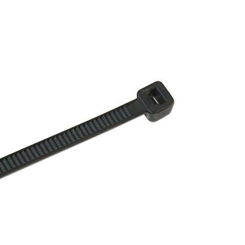 Bullwork Powerstraps Qualitäts Kabelbinder UL94 V2 schwarz 5 Größen 500er Pack - 3