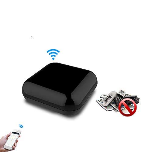 WiFi Smart IR Wireless Infrarot-Fernbedienung TV Klimaanlage SAT von Smart Life / Tuya APP, Kompatibel mit Alexa Echo Google Home