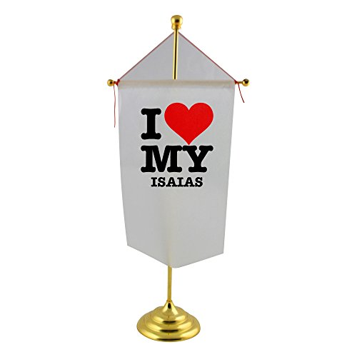 table-flag-with-i-love-my-isaias