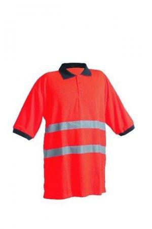AVALON Polo-Shirt orange XXL - Avalon Polo