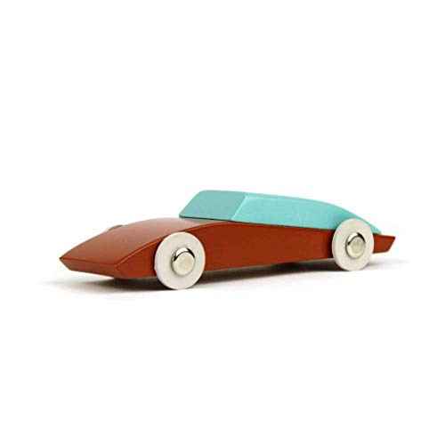 Ikonic Toys 190196 Duotone Car No3 - Coche de Juguete, Color Azul
