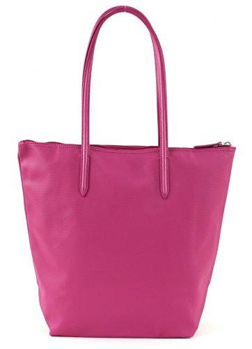 Lacoste Sac Femme L1212 Concept Vertical Shopper Tasche 39 cm festival fuchsia