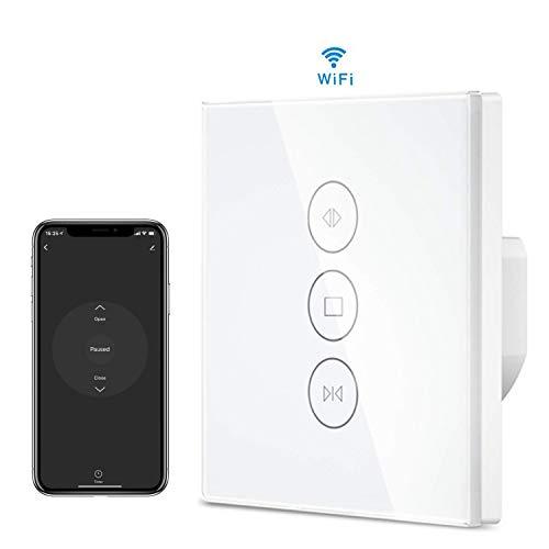 Interrupteur Volet Roulant,Minuterie Muzhuo WiFi Smart Voice à Roulement Compatible avec Alexa...