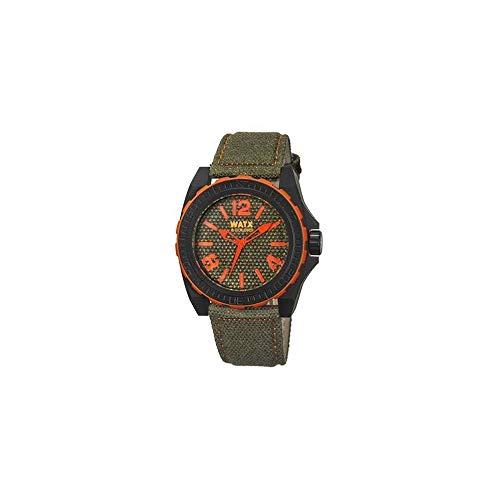 Watx Reloj Análogo clásico para Hombre de Cuarzo con Correa en Nailon RWA1834