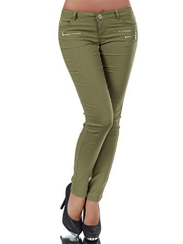 316 Damen Jeans Hose Damenjeans Damenhose  Hüftjeans Gerades Bein