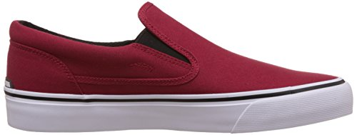 DC TRASE Herren Slip-On Rouge - Red