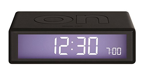 Klein & More - Lexon Flip 2 Wecker - schwarz - Jeremy & Adrian Wright - Design - Uhr Digitale Flip-uhr