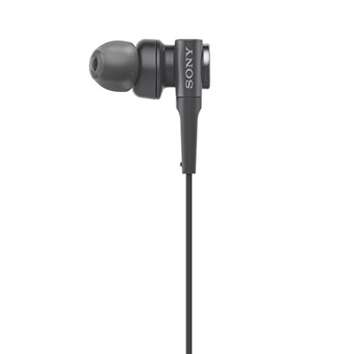 Sony MDR-XB55 Extra-Bass in-Ear Headphones Without Mic(Black) Image 3