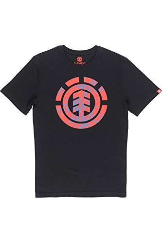 Element Nam Palm Fill T-Shirt Black