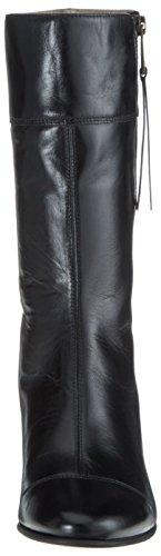 Marc Opolo Mid Heel Medium Boot 70714187101122, Bottes À Franges Pour Femme Noir (noir)