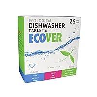 Dishwashing New Ecover Automatic Dishwasher Tabs 176 Oz