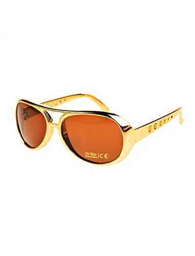 Deiters Brille Rock 'n' Roll Gold/braun