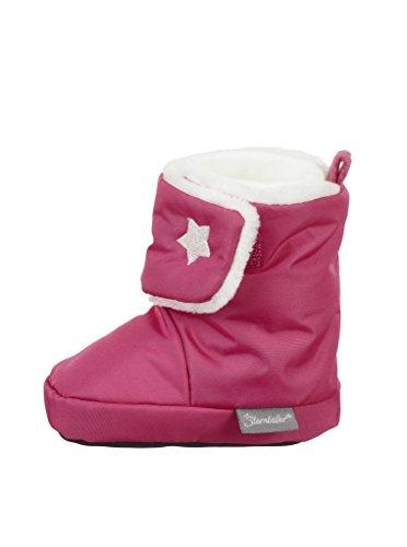 Bild von Sterntaler Mädchen Baby-Schuh Stiefel, Rot (Beerenrot), 21/22 EU