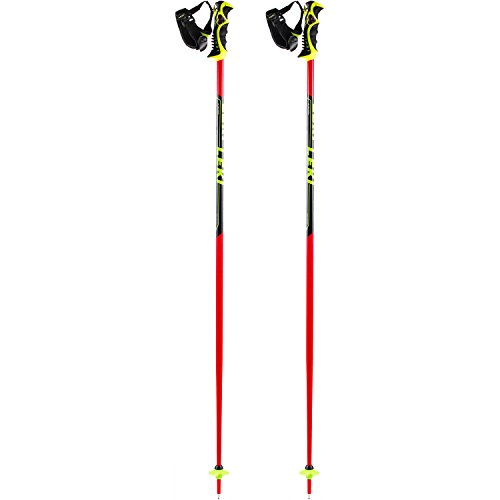 LEKI Worldcup SL - TBS Skistöcke, Rot/Schwarz, 120 cm