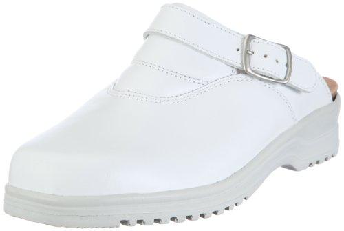 Hartjes Gertraud 92522, Zoccoli donna Bianco (Weiss)