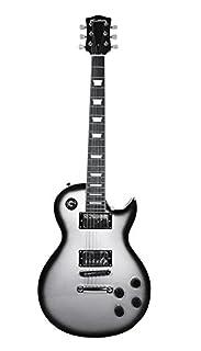 Rockburn LP2 Electric Guitar - Silver burst (B002S0NOLM)   Amazon price tracker / tracking, Amazon price history charts, Amazon price watches, Amazon price drop alerts