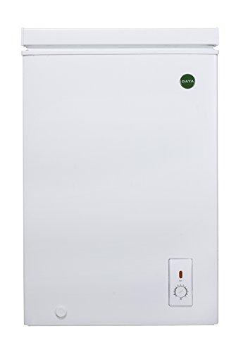 Congelatore Pozzetto Orizzontale Capacità 100 Litri Classe A+ Daya DCP 100H Colore Bianco Bakaji Home Appliance