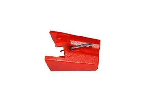 HONGCI Aguja de repuesto con punta de diamante para tocadiscos Para for BUSH M1, MP370CD, MT1, MTT1, MTT2 ION ICT04RS y Crosley NP4