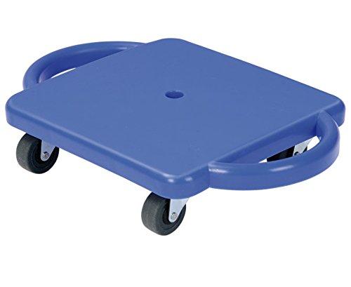 Betzold 33689 - Kleines Rollbrett mit Flüster-Rollen - Sport, Spiel und Spaß, aus robustem Kunststoff
