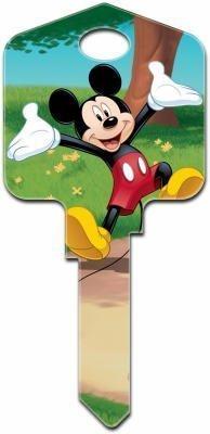 Disney 's Mickey Mouse House Schlüsselrohling–UL2D82–blanko nur, muss geschnitten werden