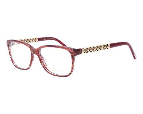 Chopard Brille (VCH-181-S 01GJ) Acetate Kunststoff marmor stil rosa - geräuchert bordeaux