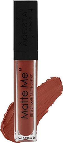 Arezia Matte Me Liquid Lipstick 6ml / 0.2 fl.Oz. ( Nude Brown )