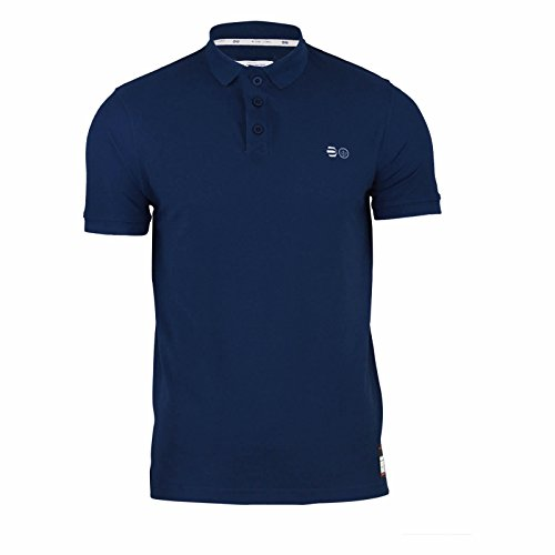 Crosshatch Herren Poloshirt Total Eclipse