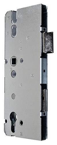 KFV Reparatur Schlosskasten Hauptschloss AS 8092 Dornmaß: 100mm (97mm) / Entfernung 92mm, incl. SN-TEC Montagematerial zum Schrauben und Nieten & SN-TEC Montageanleitung