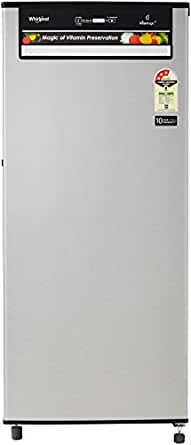 Whirlpool 200 L 3 Star Direct Cool Single Door Refrigerator(215 VITAMAGIC PRO PRM 3S, Alpha Steel)