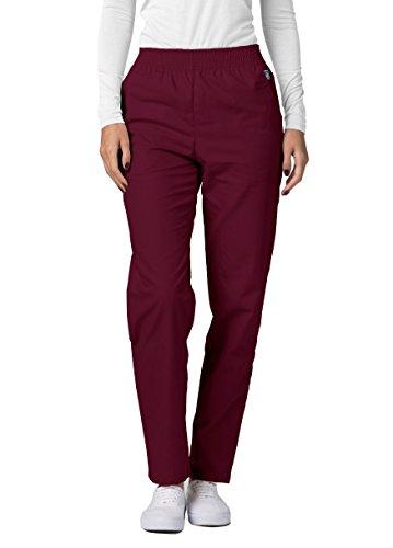 Pantaloni camice medico – pantaloni da donna uniforme ospedale - 502 colore: brg | dimensione: xs