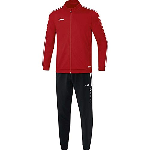 JAKO Kinder Striker 2.0 Trainingsanzug Polyester, Chili rot/Weiß, 140