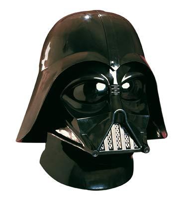 PARTY DISCOUNT Star Wars - Darth Vader Maske und Helm / Imperator Kostüm Set Zubehör