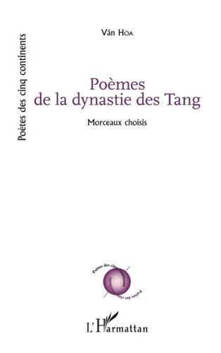 Poèmes de la dynastie des Tang