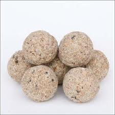 FAT BALLS SUET DUMPLINGS WILD BIRD FOOD in nets - box of 100