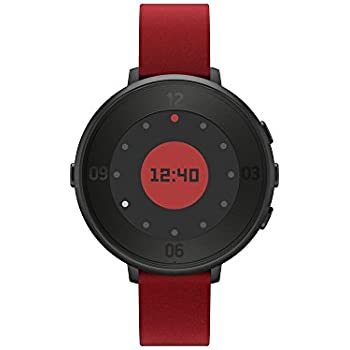Pebble BXPETR14B - Smartwatch, color negro