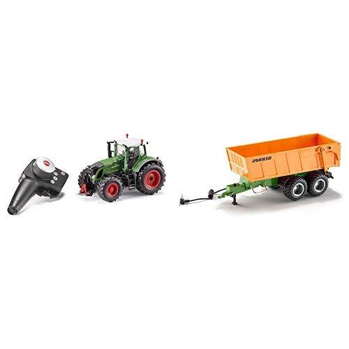 RC Auto kaufen Traktor Bild: Siku 6880 - Fendt 939 Set mit Fernsteuerung & 6780 - Tandem-Achs-Anhänger*
