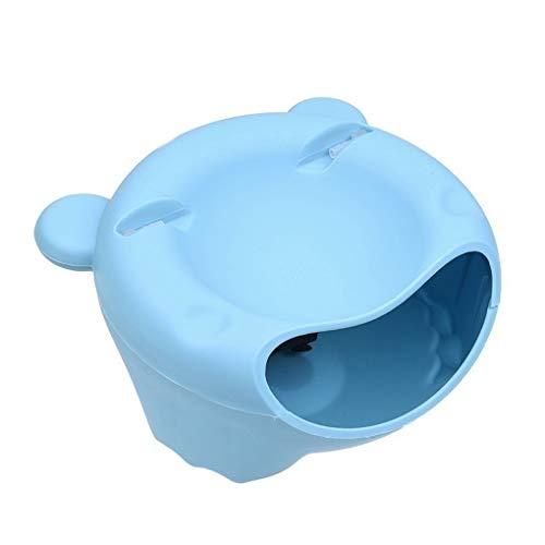 Babysbreath17 Haustier-Wasser-Brunnen-Super-Quiet Haustier-Wasser-Zufuhr automatisches Haustier Wasser-Zufuhr mit einem Weithals Blau 21 * 21 * 11.5cm -