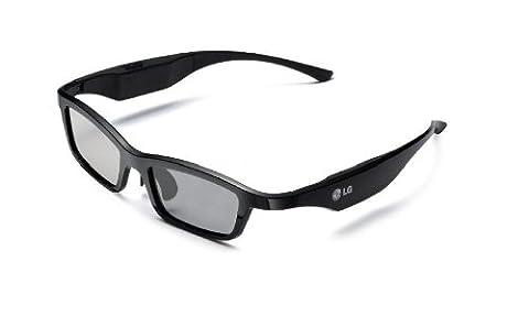 LG AG-S350 Lunettes Plasma 3D Noir