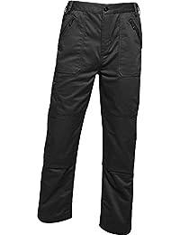 Regatta Professional Pro Action Hardwearing Water Repellent Multi Pocket Trousers - Pantalones Hombre
