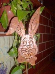 Rouille noble Bouchon tête de lapin DE6056R