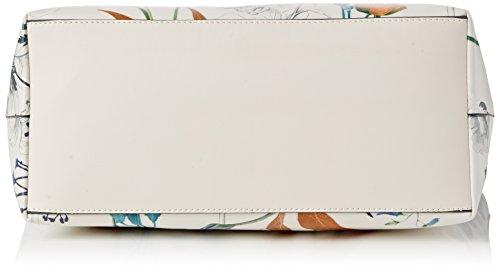 Fiorate Ladies Tate Bag, Taglia Unica Multicolore (bianco Botanico)